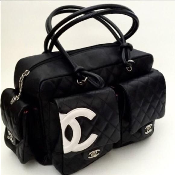99c0a23bd1e829 CHANEL Handbags - Authentic CHANEL Cambon Reporter Bag Purse